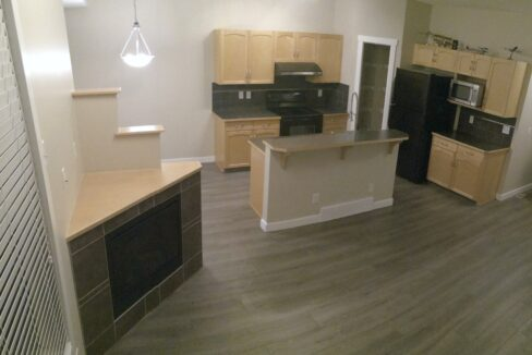 1 - Kitchen and Living Room