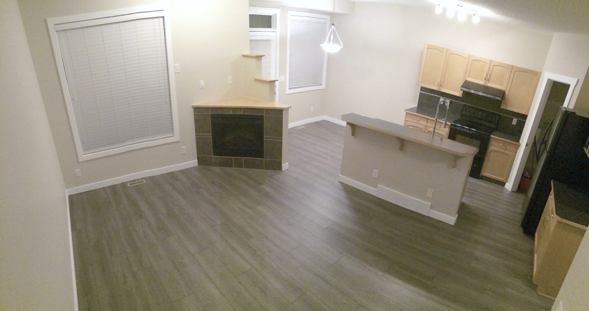 2 - Kitchen and Living Room