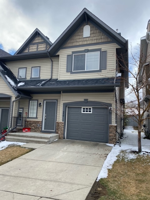 240 Rockyspring Grove NW, Calgary front elevation