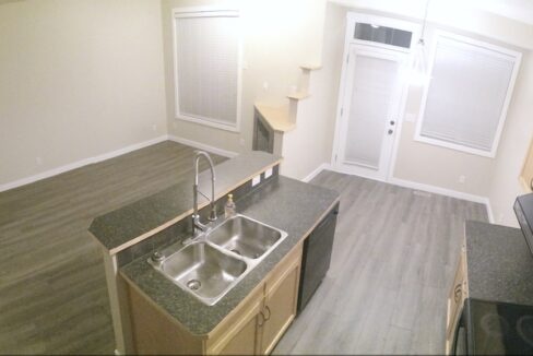 3 - Kitchen and Living Room