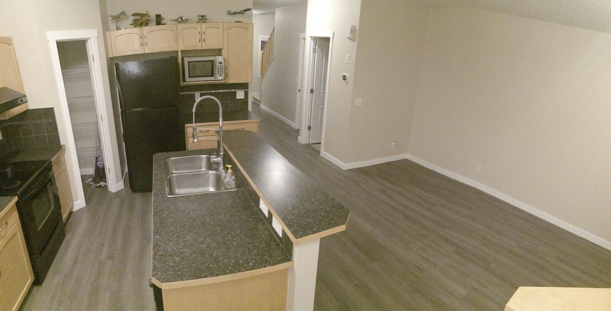 4 - Kitchen and Living Room